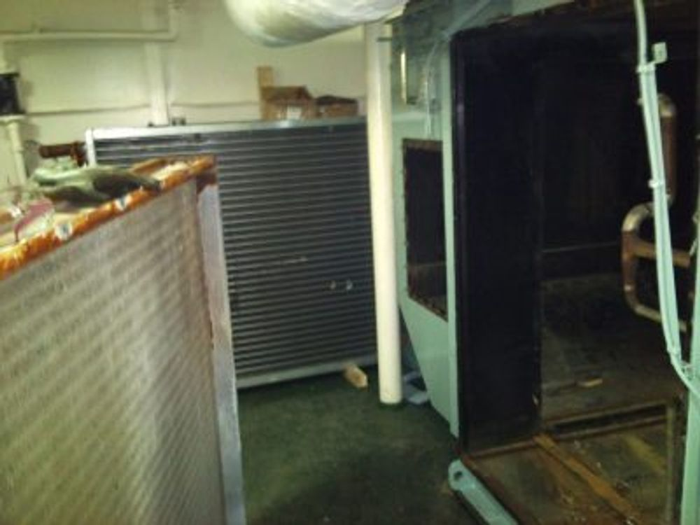 Έργο: Αντικατάσταση εξατμιστή σε κλιματιστική μονάδα πλοίου