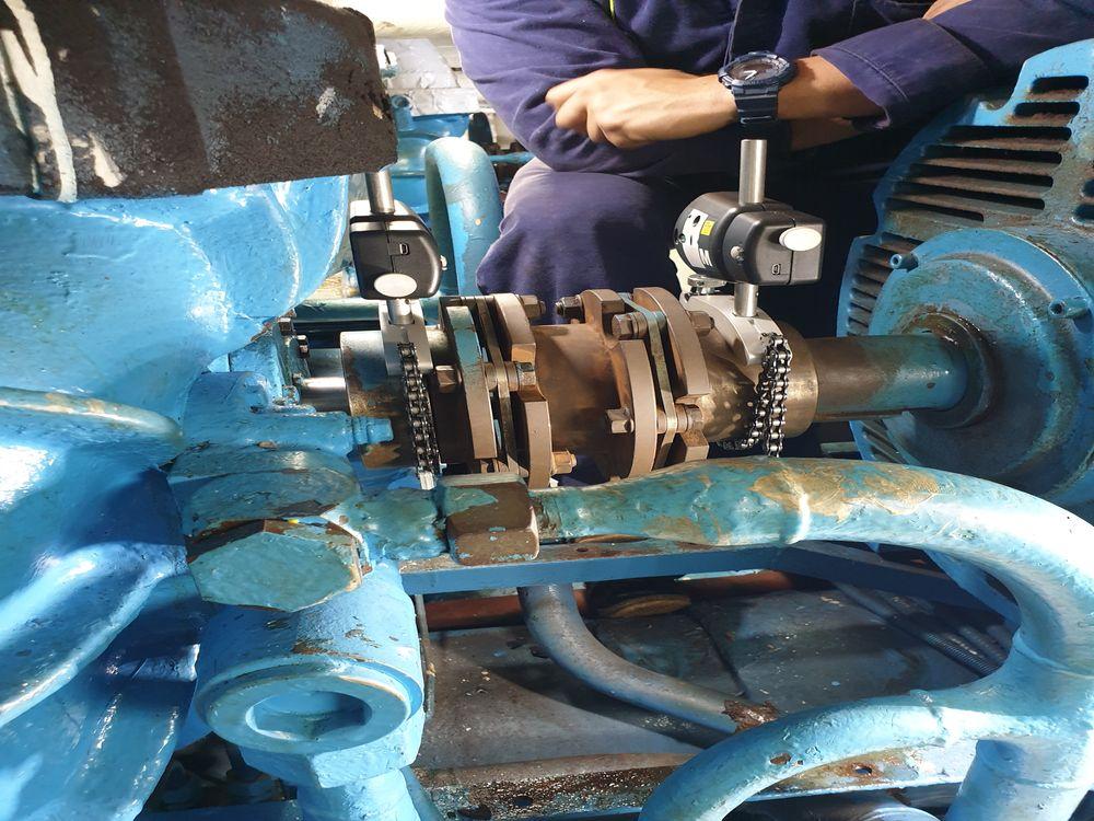 Έργο: Shaft Seal Replaced & Shaft Laser Alignment