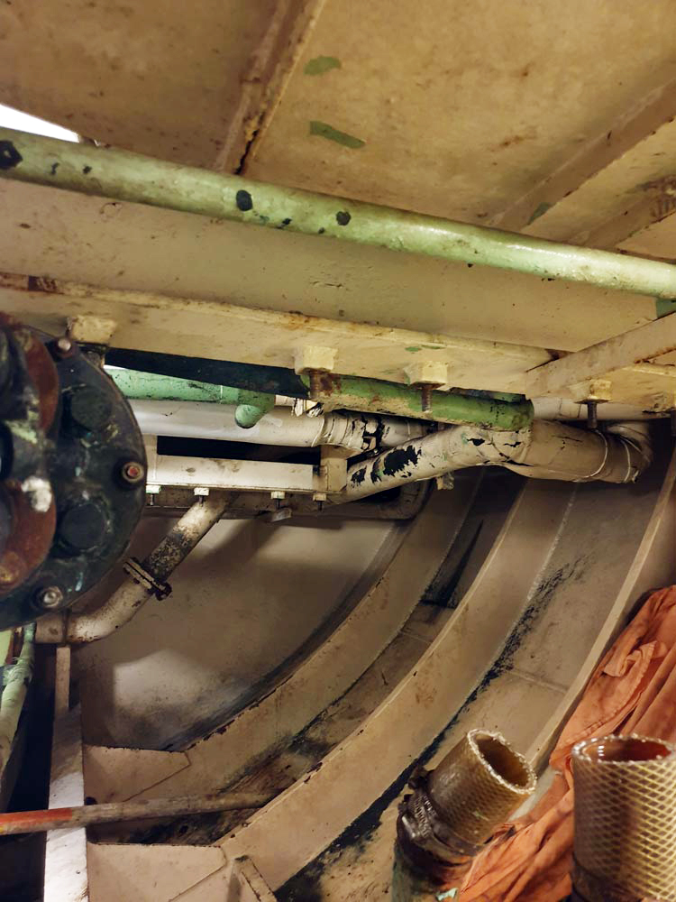 Έργο: Sea water condensers replacement